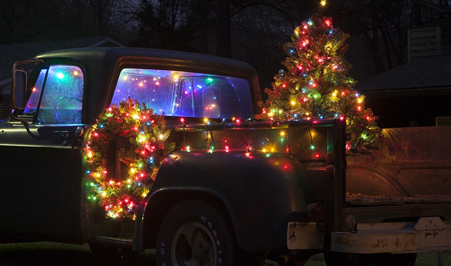 Christmas Truck Decorations