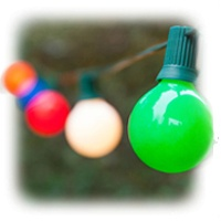 G40 Opaque Multicolor Lights