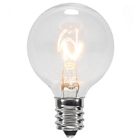 G40 Clear Patio Bulb
