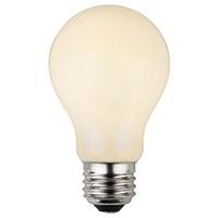 A19 White Opaque Patio Bulb
