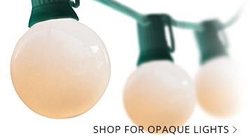 Opaque Patio Lights