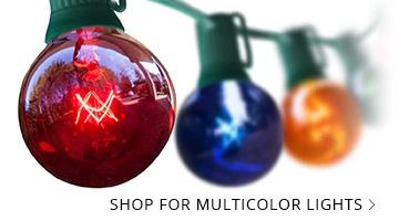 Multicolor Patio Lights
