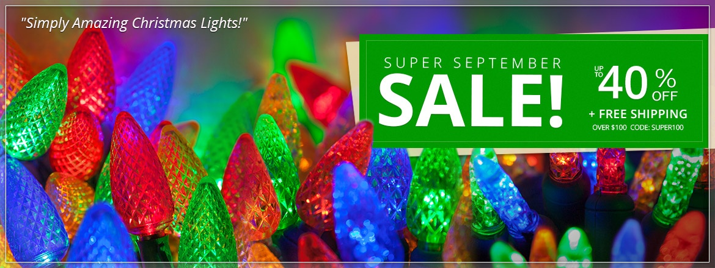 Super September Light Sale!
