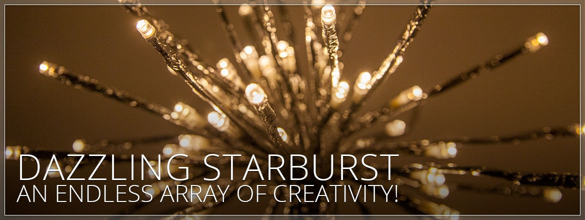 Starburst Lighted Branches!