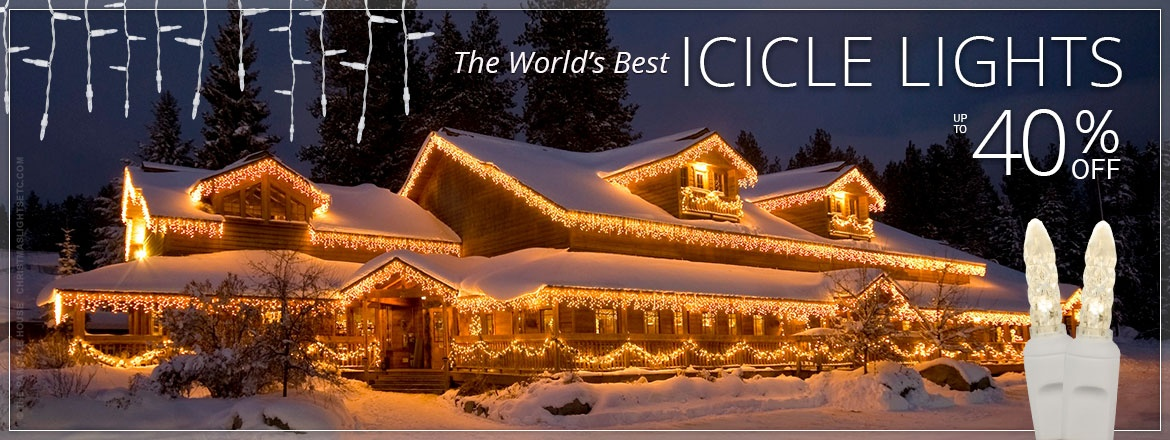 The World's Best Icicle Lights