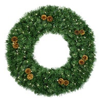 commercial christmas wreath