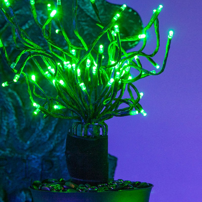 Halloween Starburst Lighted Branches Decoration