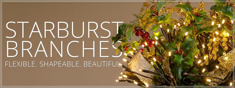 Starburst Lighted Branches!