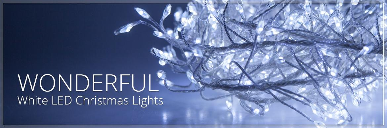 White LED Christmas Lights