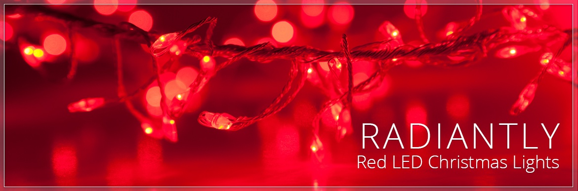 Red LED Christmas Lights