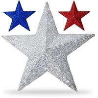 Metallic Polymesh Stars