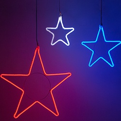 Decorative Christmas Star Lights