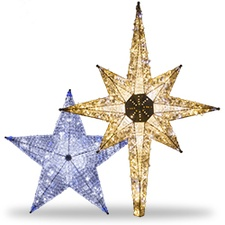 Star Christmas Tree Toppers