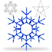 Folding Snowflake & Star Lights