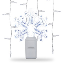 Snowflake & Star String Lights