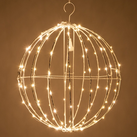Metal Frame Light Ball with Fairy Lights