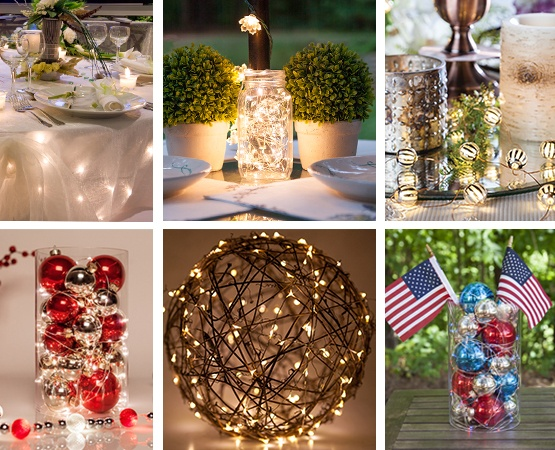 Fairy Lights Decorating Ideas