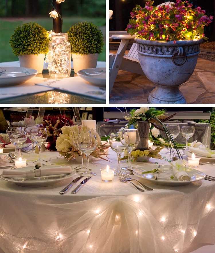 Decorating Magic With LED Fairy Lights