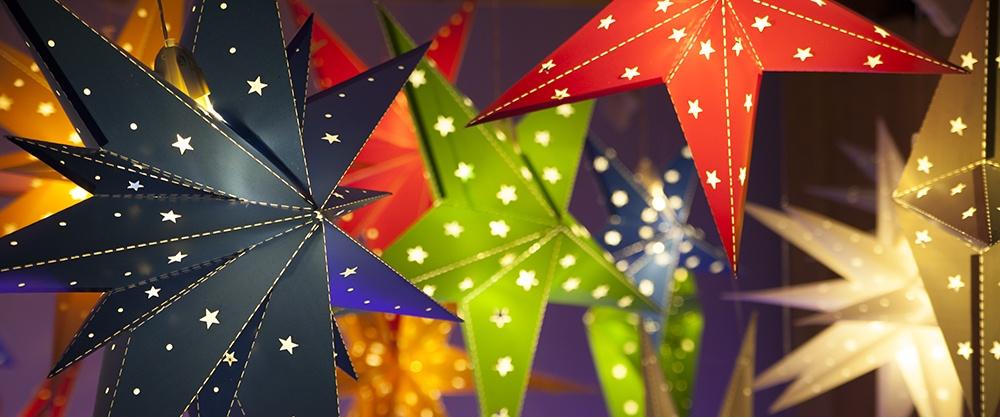 Christmas Star Light Decorations