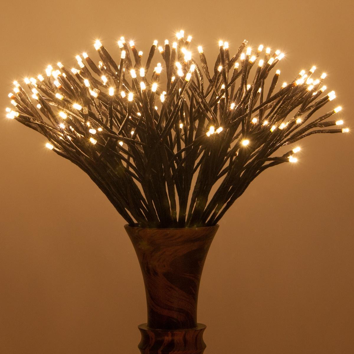 Starburst Branch Lights Vase