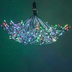 Starburst Lighted Branch Chandelier