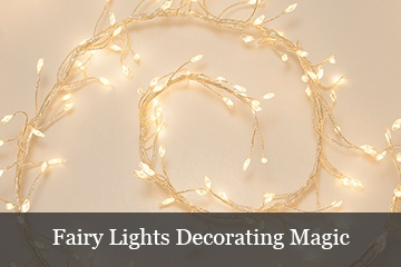 Decorating with LED Fairy Lights for Christmas