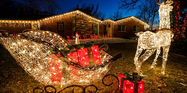 outdoor christmas decorations - Christmas Decorations Lights