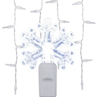 Snowflake Icicle Lights