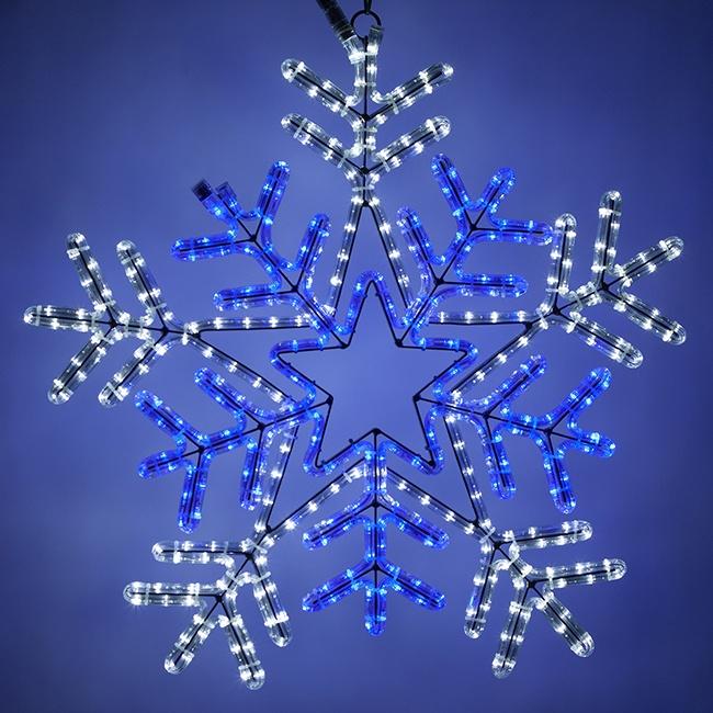 Rope Light Snowflake Create a winter wonderland with snowflake lights rope light snowflake audiocablefo