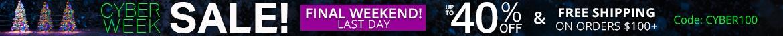 Cyber Week Sale!