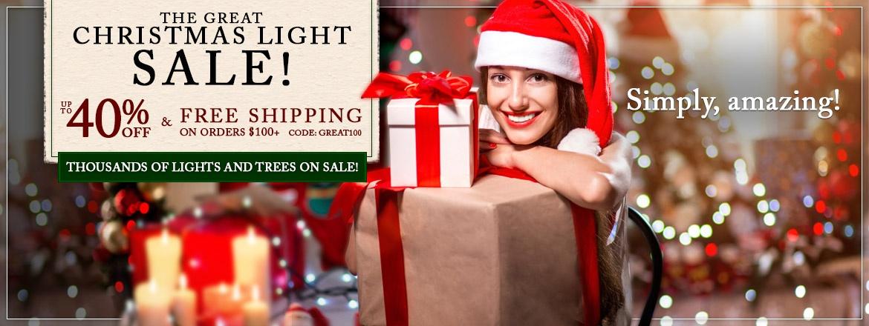 The Great Christmas Lights Sale!