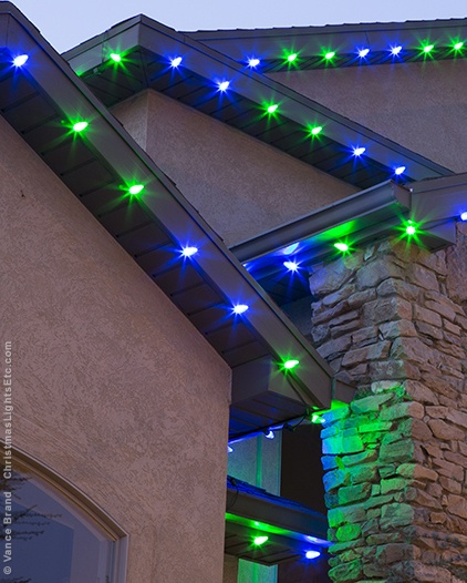 Green LED Roof Lights