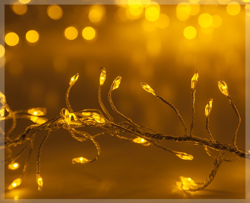 Gold LED Fairy Lights