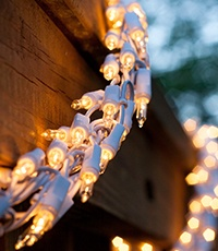 Incandescent Mini Garland Lights