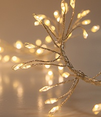 Cluster LED Fairy Garland Lights