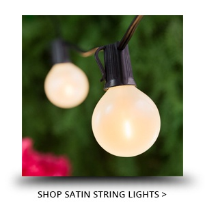 Satin Finish String Lights