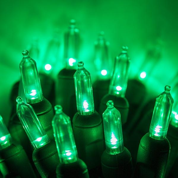 Green Halloween Lights