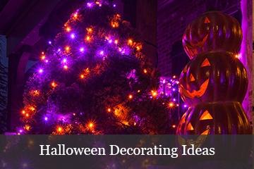Halloween Lights & Decorating Ideas