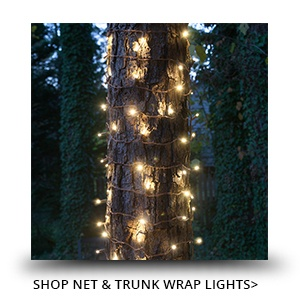 Christmas Trunk Wraps & Net Lights