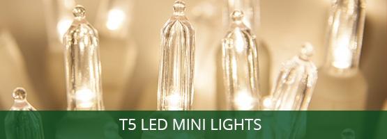 T5 LED Mini Christmas Tree Lights