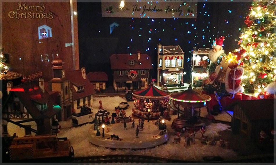 Christmas Train Display & German Village