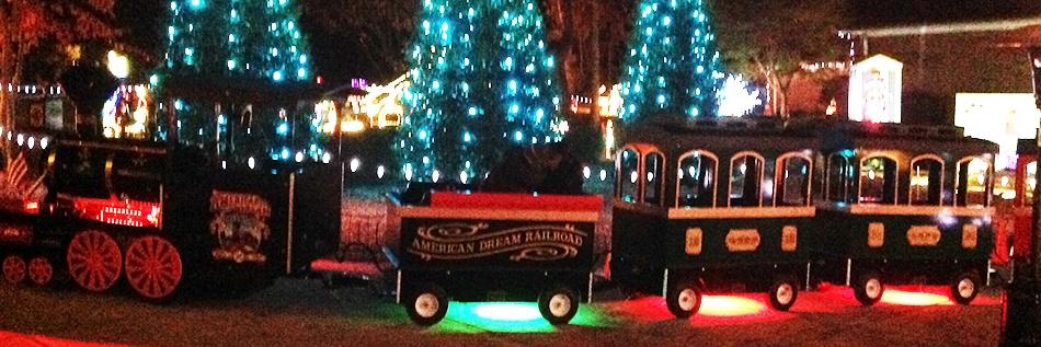 Santa's Village Train Rides