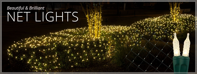 Beautiful & Brilliant Net Lights