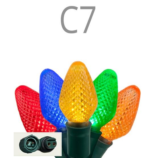 C7 Commercial LED Christmas Light Sets