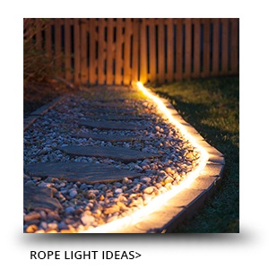 Outdoor Rope Light Ideas