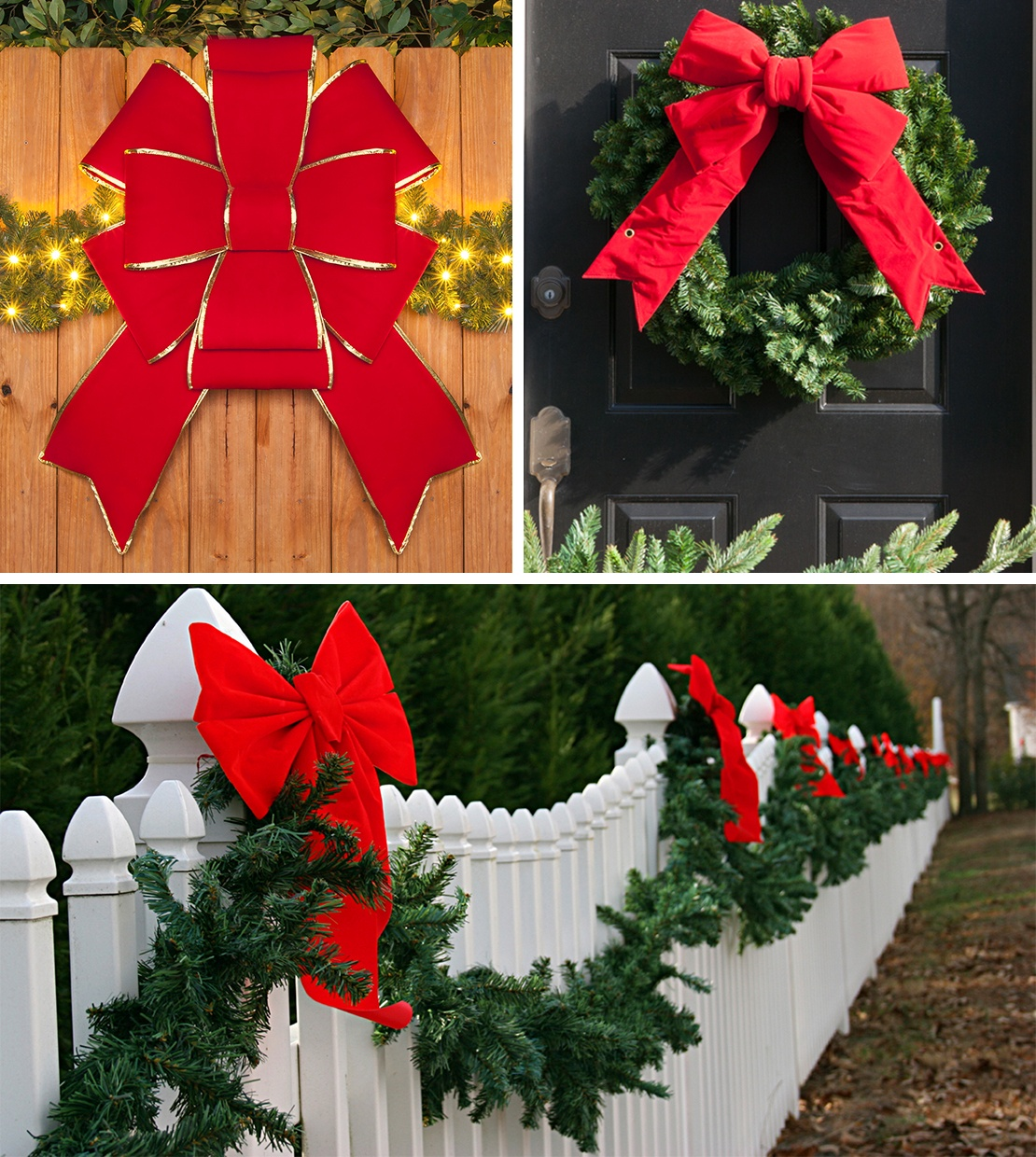 Christmas Bow Decorating Ideas