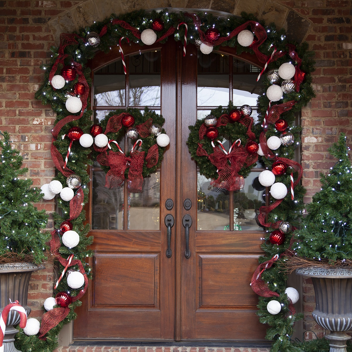 Christmas Garland DIY Door Decoration