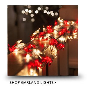 Shop Christmas Garland Lights