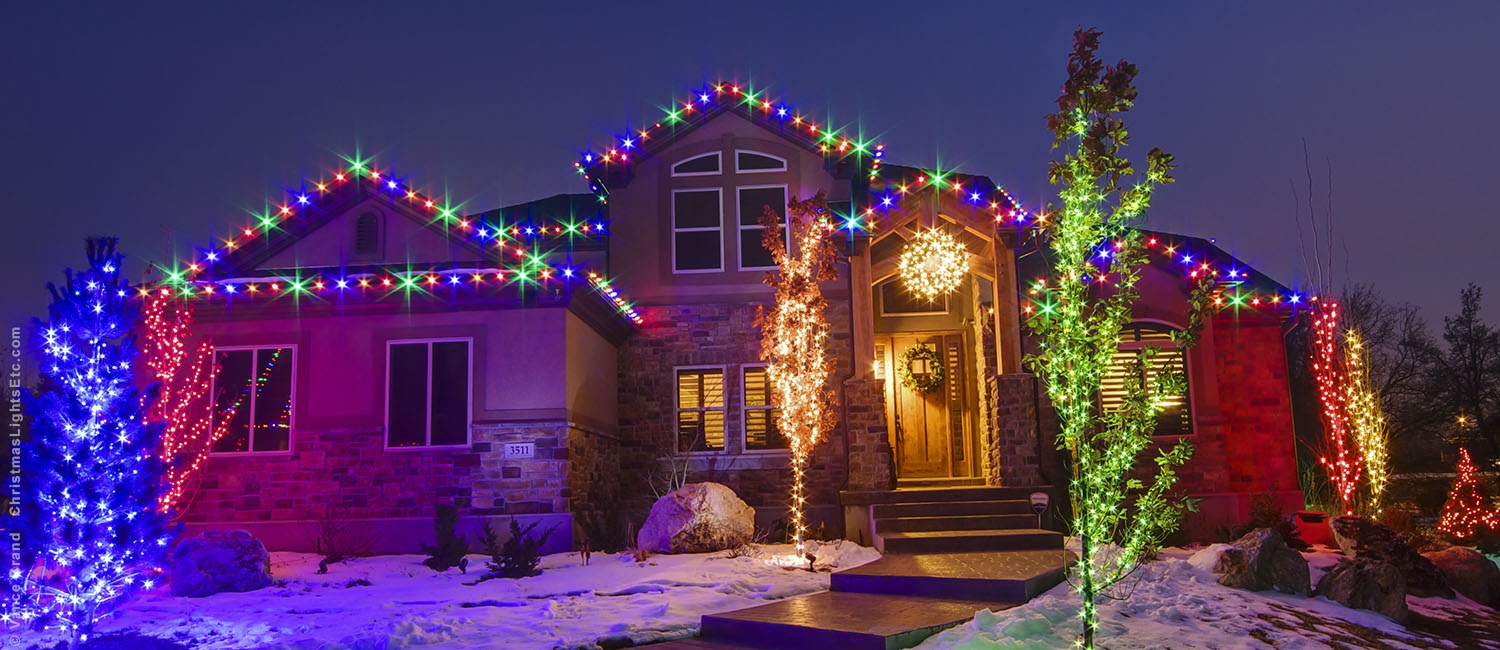 Christmas Lighting.Led Christmas Lights Guide