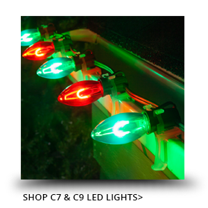 C7 & C9 LED Christmas Lights